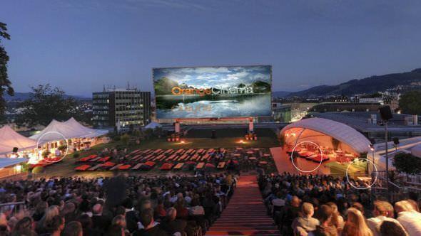 Openair Kino Zürich und Basel