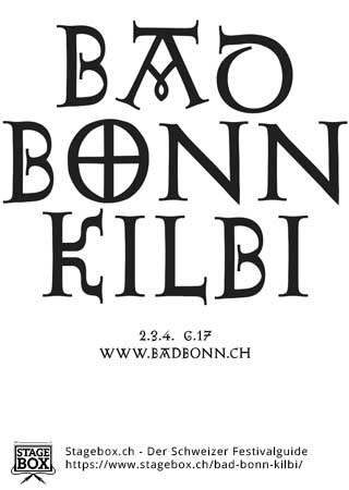 Flyer Bad Bonn Kilbi 2018