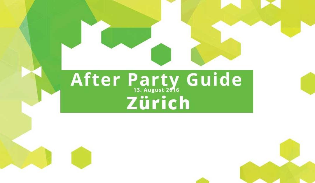 Street Parade Zürich – After Partys – hier geht die Feier weiter