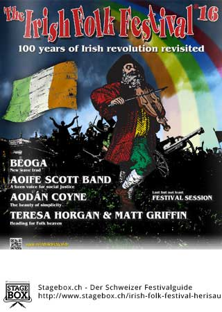 Flyer Irish Folk Festival 2021