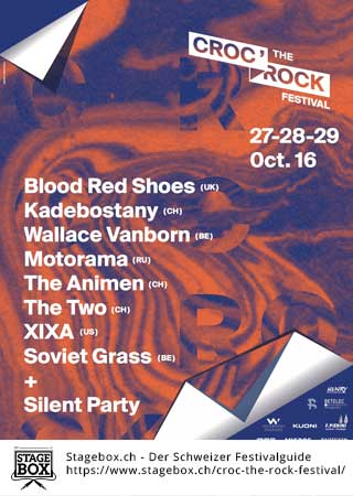 Flyer Croc The Rock Festival 2017