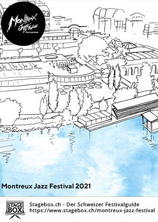 Flyer Montreux Jazz Festival 2021