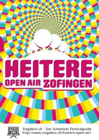 Heitere Openair Zofingen - Flyer