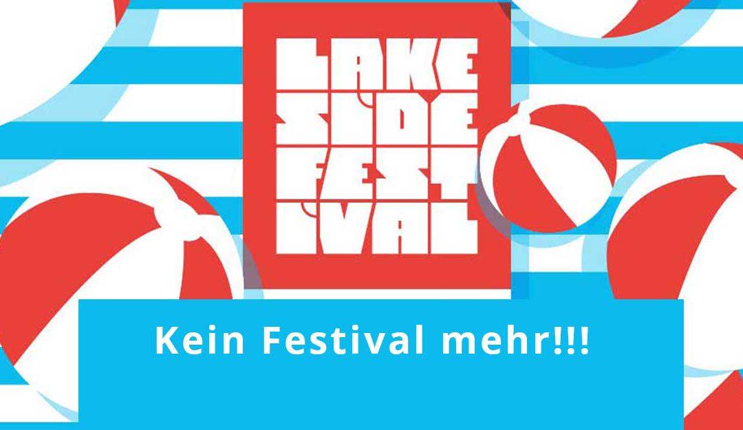 [NEWS] Deshalb findet das Lakeside Festival 2017 nicht statt