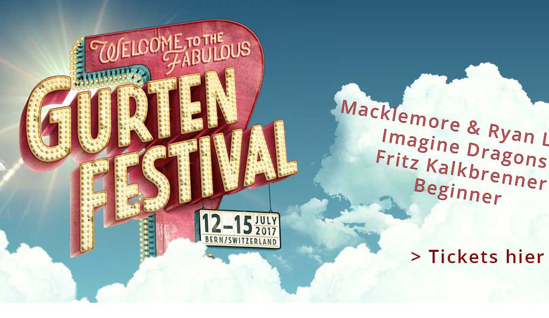 [NEWS] Gurtenfestival – 4 Headliner bekannt – Ticket VVK