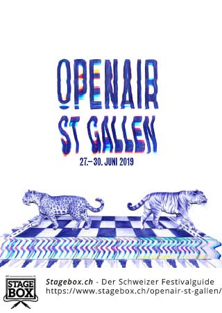 Flyer OpenAir St. Gallen 2020