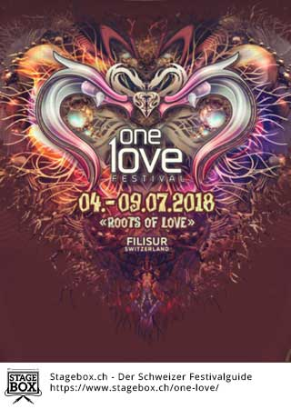 Flyer One Love 2018