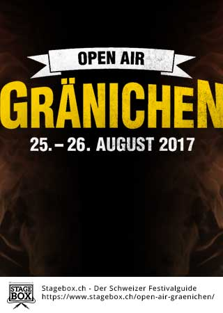 Flyer Open Air Gränichen 2018