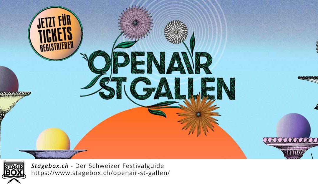 Openair St. Gallen – Das ist der Headliner 2017