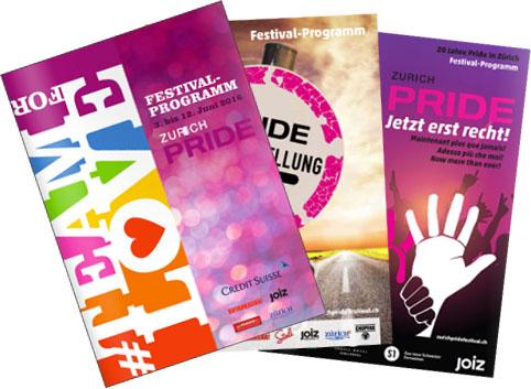 Pride Festival Magazin