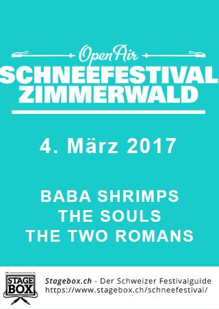Flyer Schneefestival Zimmerwald 2018