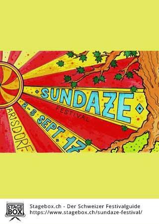 Flyer Sundaze Festival 2019