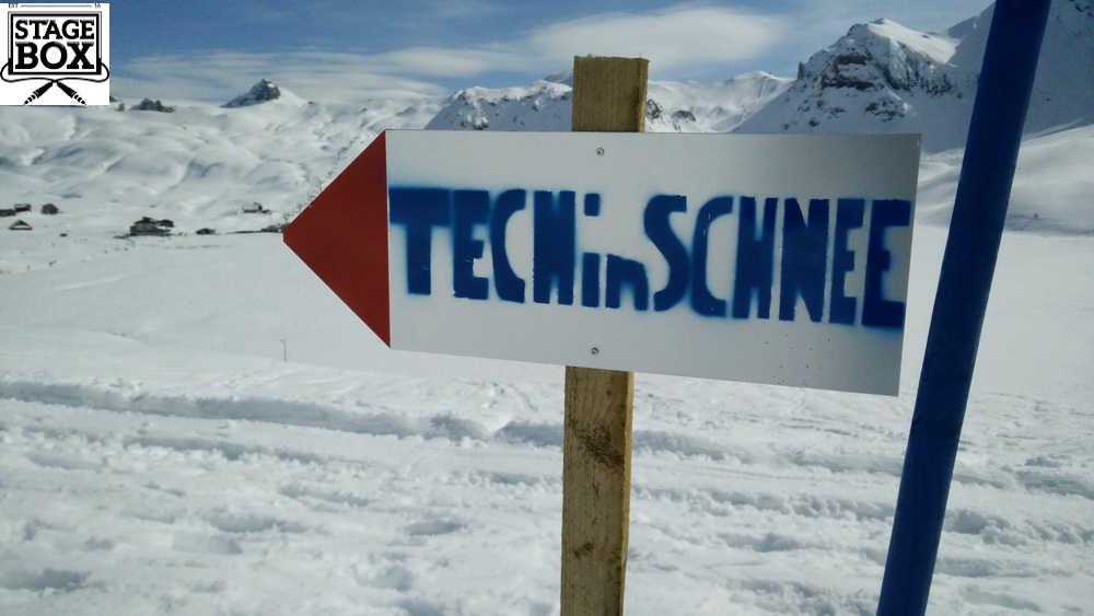 Tech im Schnee