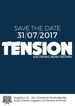 Flyer Tension Festival 2019