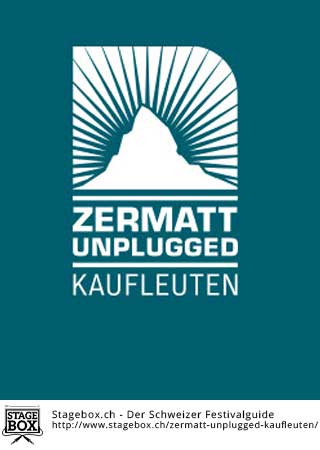 Flyer Zermatt Unplugged Kaufleuten 2017